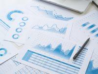 Online analytics charts