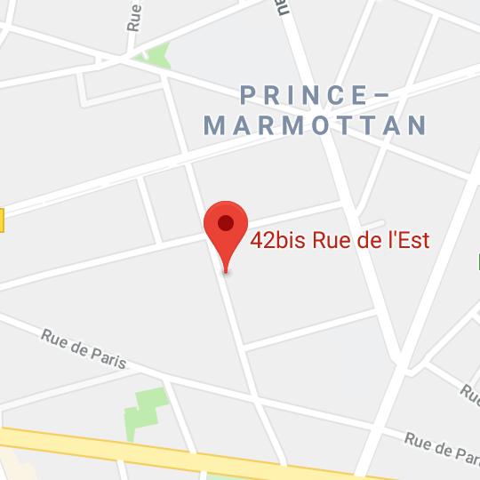 map Paris